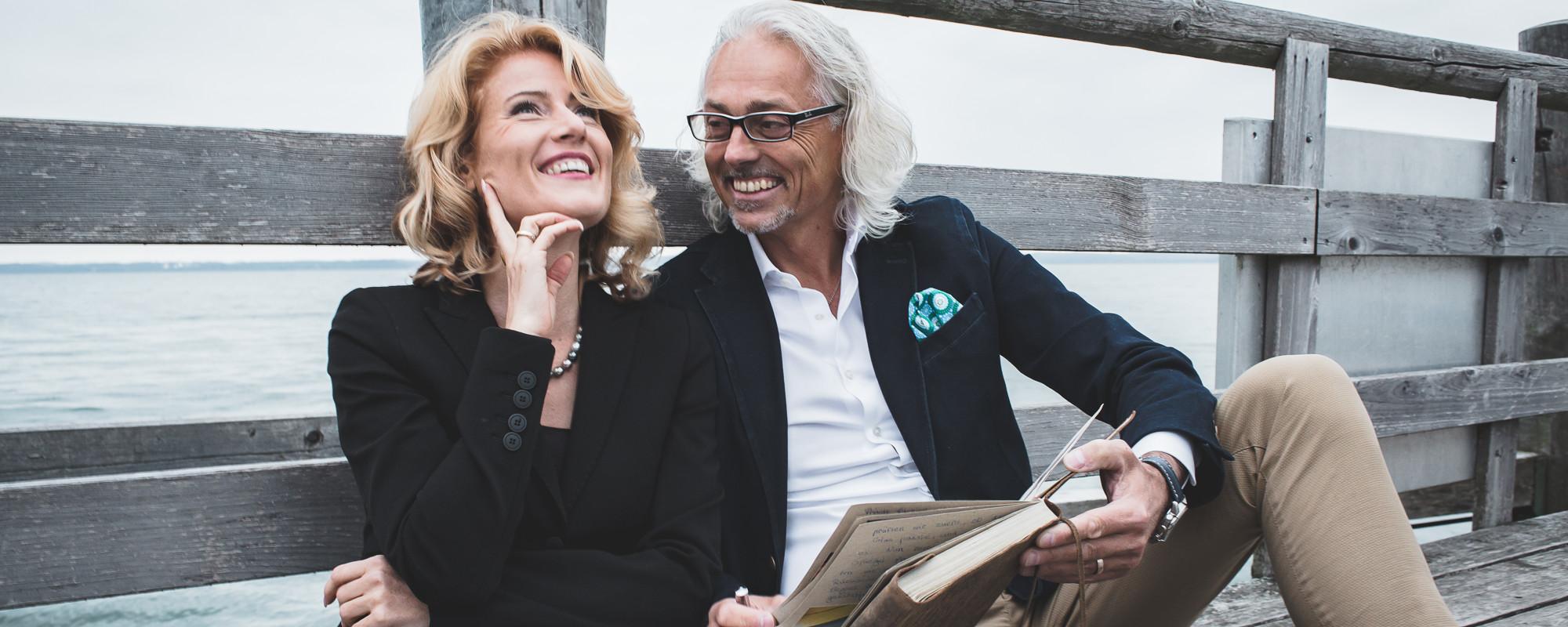 Titelbild Olja & Bernhard